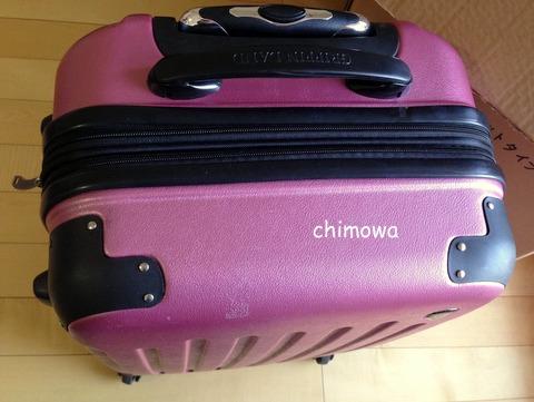 キャスターとキャリーバーつきレンタルスーツケース(キャリーバッグ) 画像