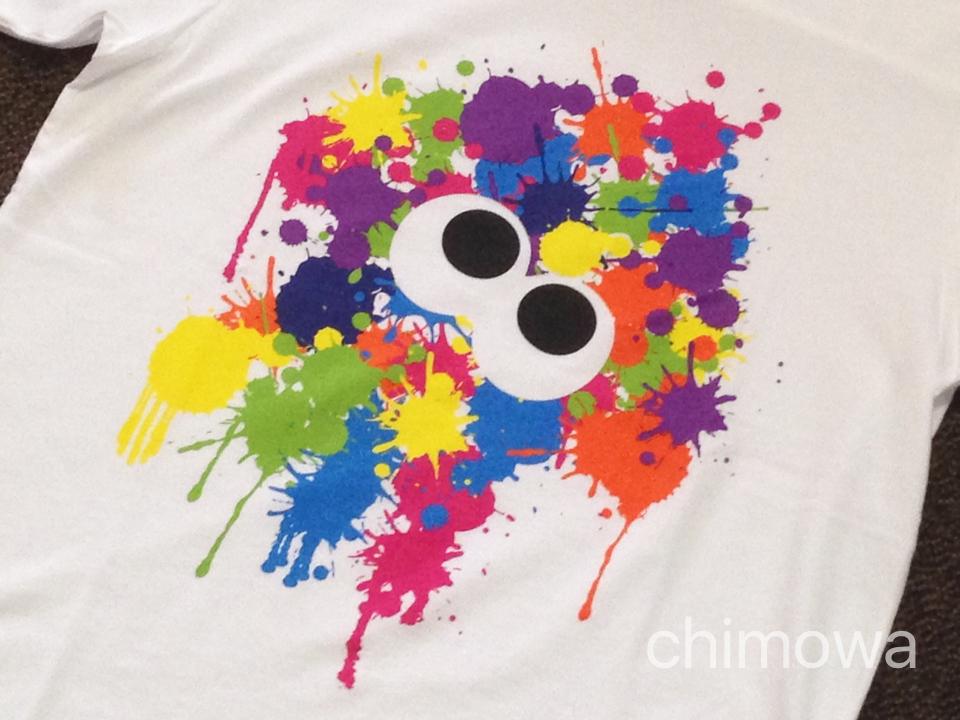 ユニクロと任天堂のコラボTシャツスプーラトゥーンの画像