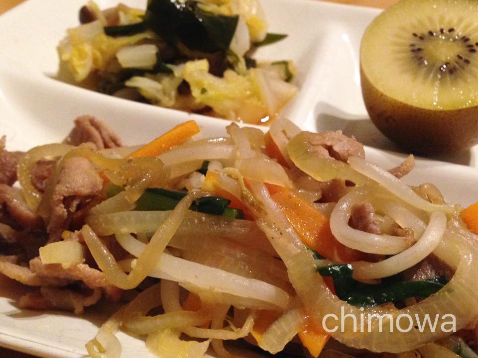 夕食宅配ヨシケイの食材で作った料理の写真(画像)