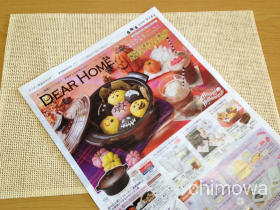 おうちコープ隔週発行カタログ「ディアホーム」の画像(写真)