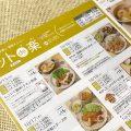 ヨシケイカタログ「キットデラク」のページ「1日ごとにメニューをお選びいただけます。」の文字の写真